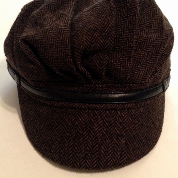 32b668514ab ... coupon code puma brown black newsboy cabbie hat cap s m bfd50 34353